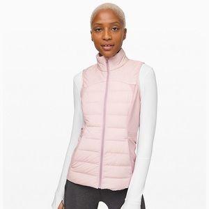 Lululemon Down For It All Vest Size 8